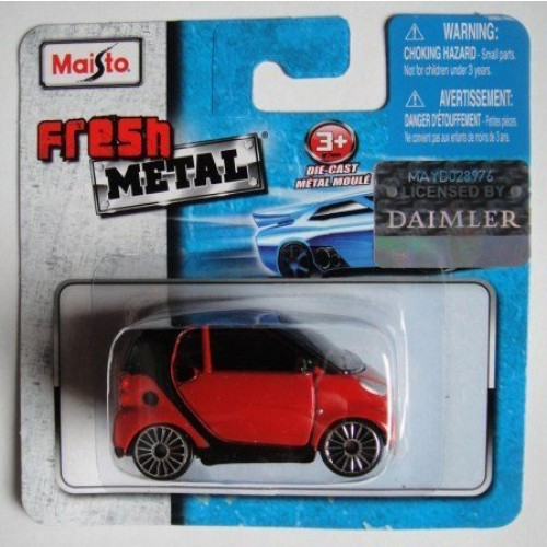 Fresh Metal MAISTO RED Smart for Two