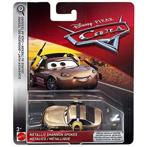 Disney Pixar Cars Metallic Shannon Spokes