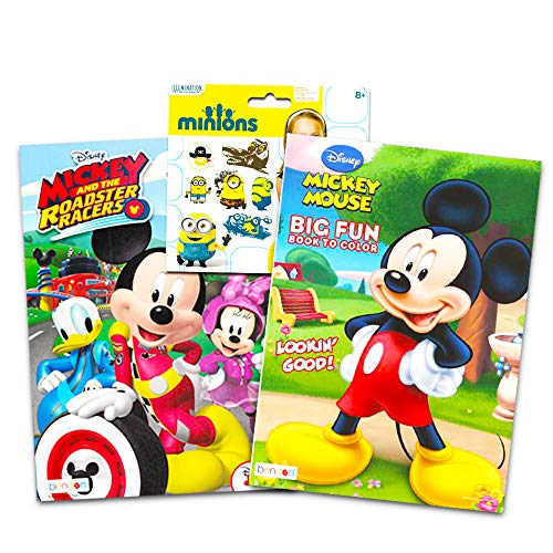 Mickey and the Roadster Racers Disney Coloring Book Super ...