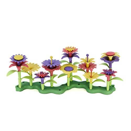 Green Toys Build-a-Bouquet Stacking Set Assorted