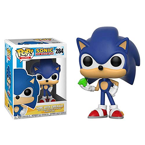 Funko Pop Games Sonic – with Emerald Collectible Toy