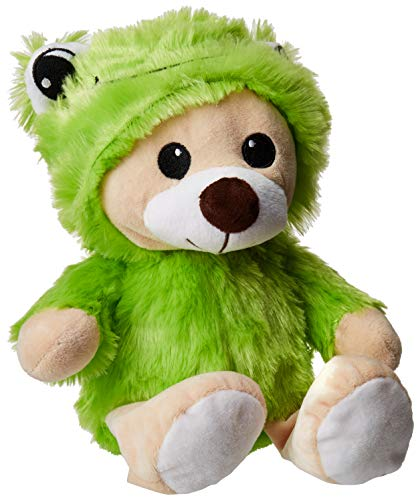 Warehouse 151 Super Soft Cute and Cuddly Teddy Bear Stuffed Animal 9 Inches Frog Suit