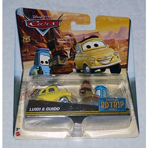 Disney Cars Luigi & Guido Cars Road Trip 1:55 Scale Mattel