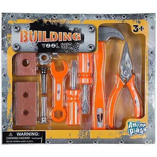 13 Piece Building Tool Play Set