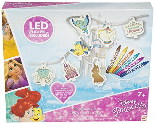 Disney Princess Decorate Your Own Fairy Lights