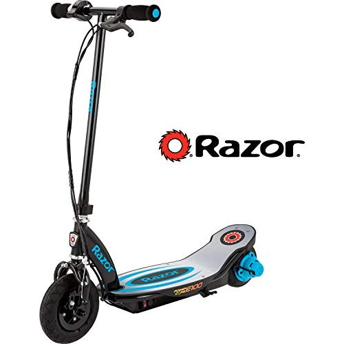Razor Power Core E100 Electric Scooter – Aluminum Deck – Blue