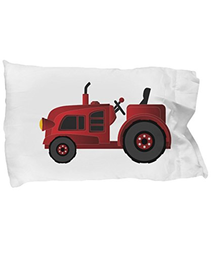 RED TRACTOR CHILDRENS TODDLER PILLOWCASE BEDDING Kids Construction Farm Farming Equipment Theme Pillow Case Classic Vintage Gender Neutral Child Bedroom Decor Check Out Our Many Super Soft Designs