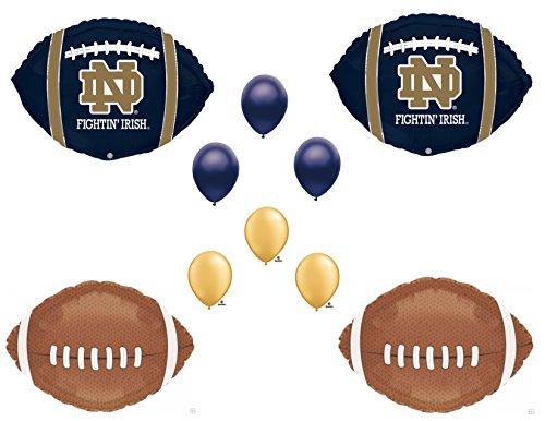 NOTRE DAME Football Game Day Birthday Party Balloons Decorations Supplies College University