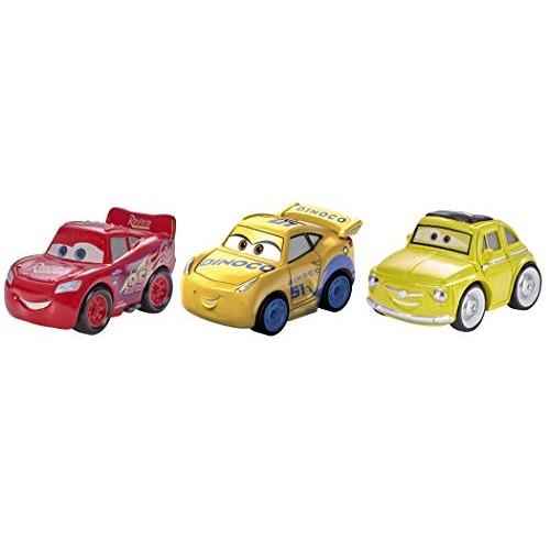 Disney Pixar Cars Mini Racers Vehicles 3 Pack – McQueen Luigi Cruz Storm Exclusive