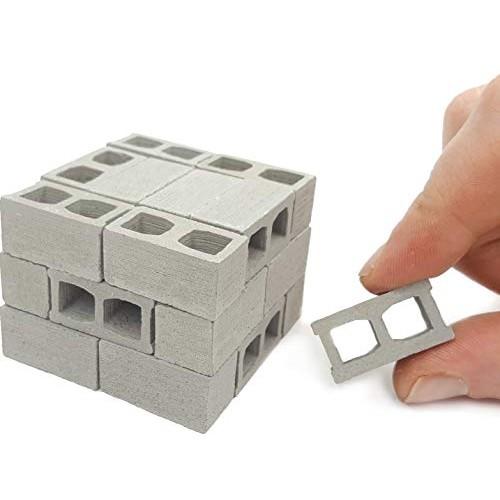 Acacia Grove Mini Cinder Blocks 24 Pack 1 12 Scale