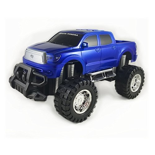 VWI Toyota Tundra Toy Truck – Off Road Friction Powered Toy Car (Blue)