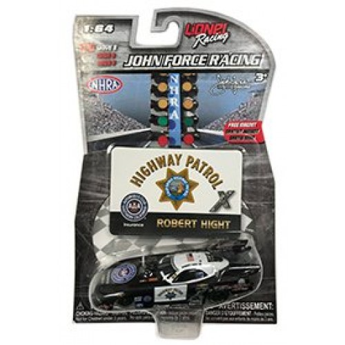 NASCAR Authentics 2017 Wave 8 Robert Hight NHRA Funny Car Highway Patrol 1/64 Scale