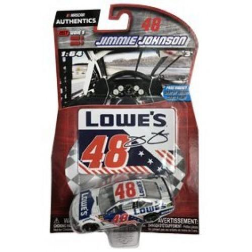 NASCAR 2017 Wave 9 Authentics #48 Jimmie Johnson Lowes Kobalt Patriotic Salutes Red White