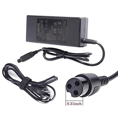 Fancy Buying 3-Prong Inline Connector Battery Charger for Electric Scooter Sports & Outdoor Equipment