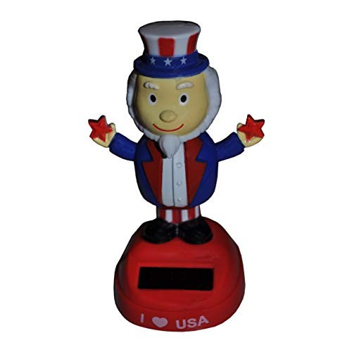 Harvey J Patriotic USA Independence Day Elections Freedom Uncle Sam Solar Dancing Man