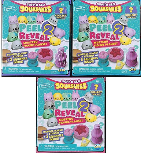 Soft n Slow Squishies Peel 2 Reveal Series 1 Color May Vary
