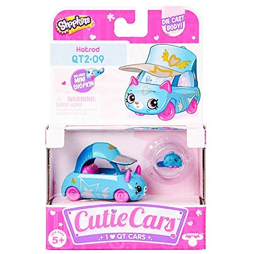 Shopkins Cutie Cars Series 2 Hatrod #QT2-09
