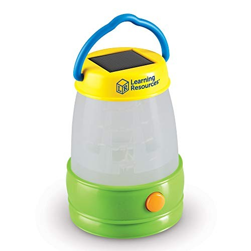 Learning Resources Solar Lantern Kids Camping Accessories Easy-Grip Portable Light Exploration Play Ages 3+
