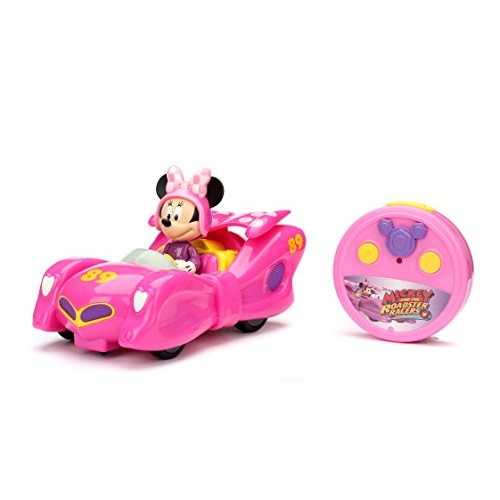 Jada Toys Disney Mickey & The Roadster Racers RC/Radio Control Toy Vehicle Hot Pink