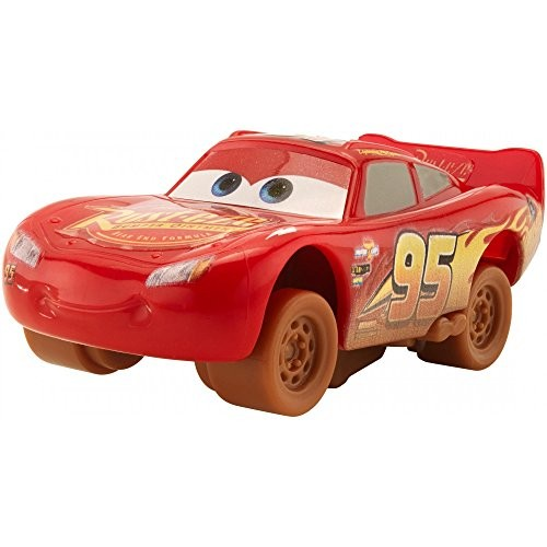Cars 3 Disney Pixar Crazy 8 Crashers 1:55 Scale Vehicle – Lightning McQueen Plus