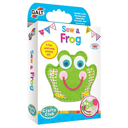 Galt Toys Sew A Frog Sewing Kit Craft Kits for Children