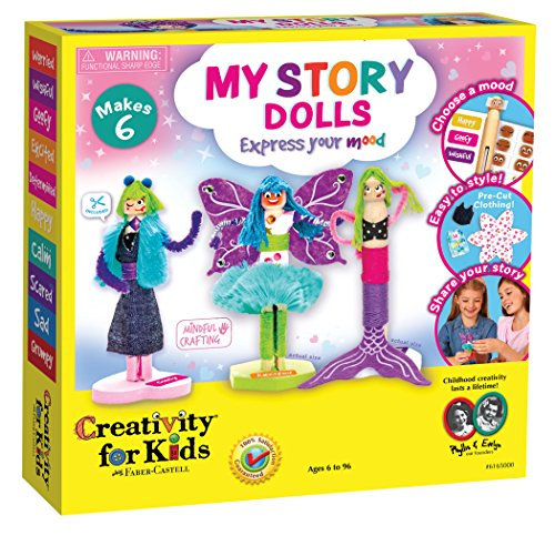 Creativity for Kids My Story Dolls – Create 6 Wooden Clothespin