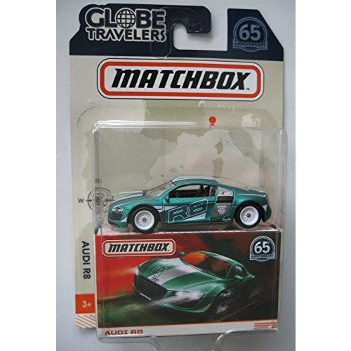 MATCHBOX GLOBE TRAVELERS GREEN AUDI R8 65TH ANNIVERSARY