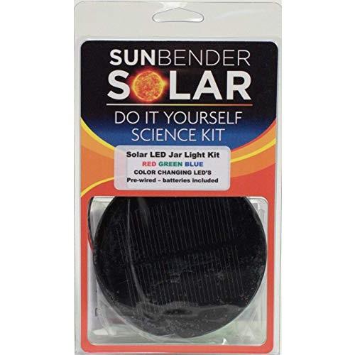 Sunbender DIY Color Changing RGB Solar Light Kit – Pre-Wired