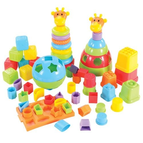 Kaplan Early Learning Company Stack & Sort Kit