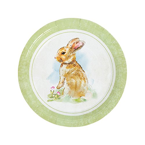 VINTAGE EASTER DINNER PLATE – Party Supplies 8 Pieces
