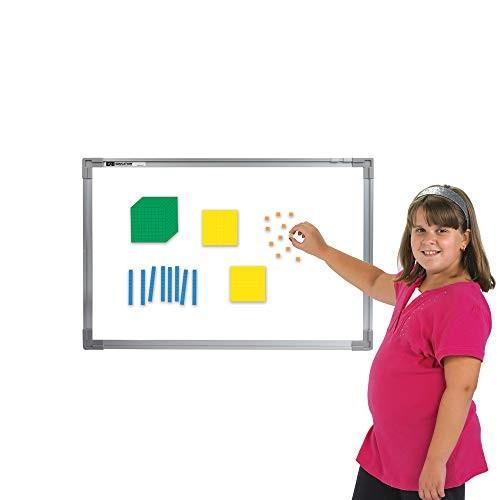 EAI Education Magnetic QuietShape Foam Base Ten Differentiated – Set of 53