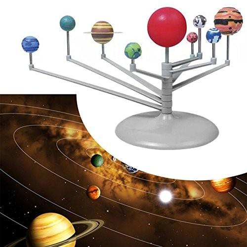EUNOMIA Solar System Nine Planets Planetarium Model Glow in The Dark Kids Science Toy