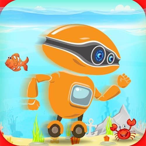 robot water surfer – underwater run