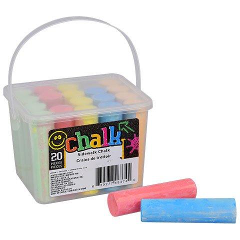Greenbrier Sidewalk Chalk 20-ct Box