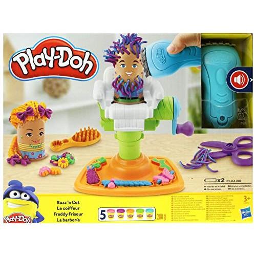 Play-doh Buzz 'n Cut Barber Shop Set E2930