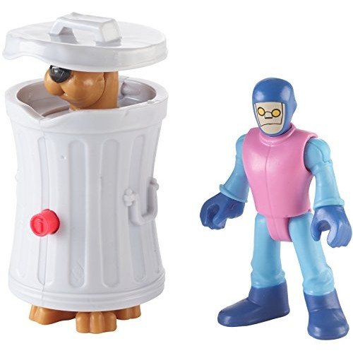 Fisher-Price Imaginext Scooby-Doo Hiding Scooby & Funland Robot – Figures Multi Color