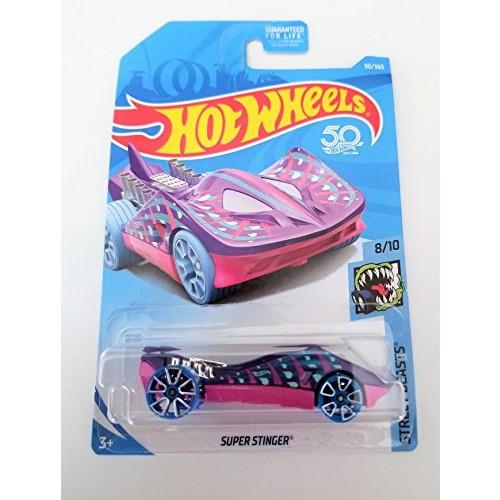 Hot Wheels 2018 50th Anniversary Super Stinger (Stingray Car) 90/365 Purple and Pink