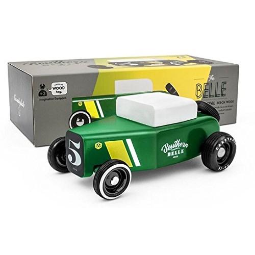 Candylab Toys Wooden Car Outlaw Southern Belle Wooden Car Modern Vintage Style Kids Toy