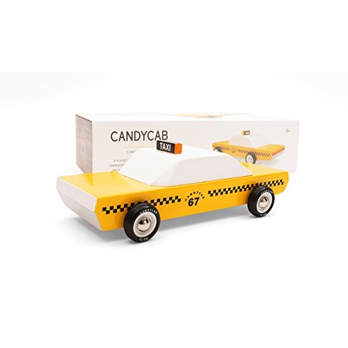 Candylab Toys Wooden Cars Candycab Modern Vintage Style Collectible Kids Toy Cars Solid Beech