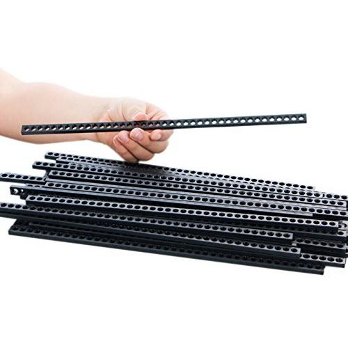 TeacherGeek Plastic 12 inch 300 mm Connector Strips – STEM STEAM Engineering Building Component