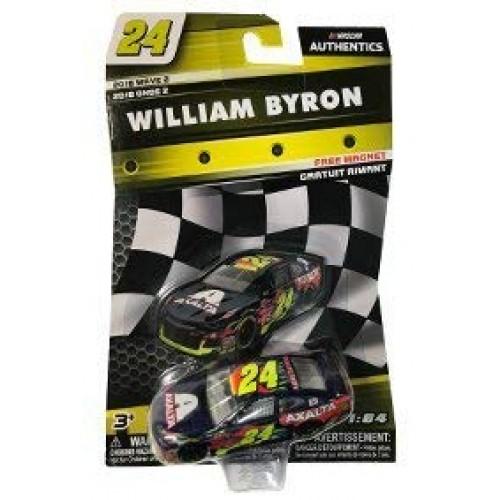 NASCAR Authentics William Byron #24 Diecast Car 1/64 Scale – 2018 Wave 2 –