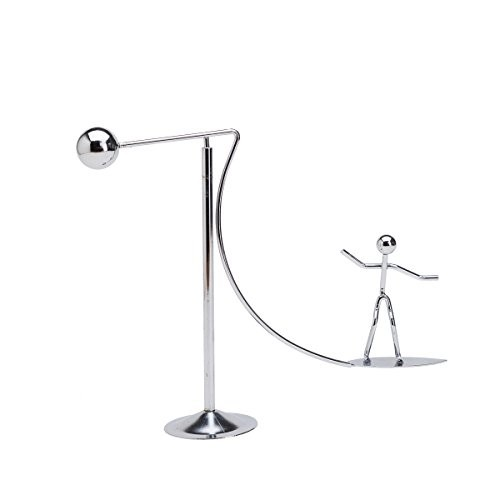THY COLLECTIBLES Kinetic Art Balance Toy – Physics Dynamic Motion Balancing Desk Home Office Decoration Surfing