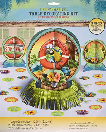 Amscan 280097 Margaritaville Table Decorating Party Kit 1