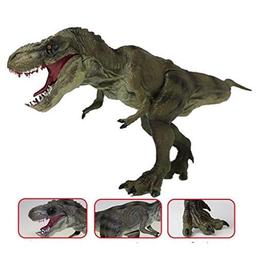 E-SCENERY 13 Inch Big Tyrannosaurus Rex Dinosaurs Model Action Figures Science Toys For Children Gift Dinosaur