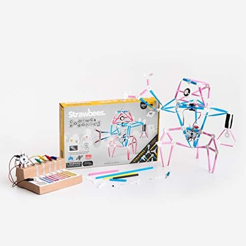 Strawbees Coding & Robotics Kit STEM Building and Programming Set 300+ Pieces