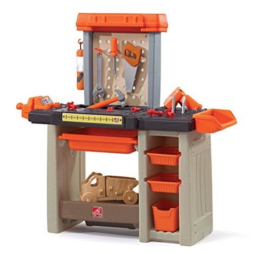 Step2 Handyman Workbench Kids Tool Bench Orange