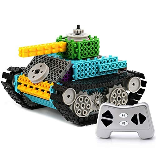 PACKGOUT STEM Toys Gifts for Boy Teen Remote Control Building Kits Girl Gift 5 6 7 Year Old Build Own