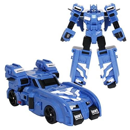 MINI FORCE 2018 New Version Miniforce x BOLTBOT Transforming Commando x-Machine Car from Robot Blue Color