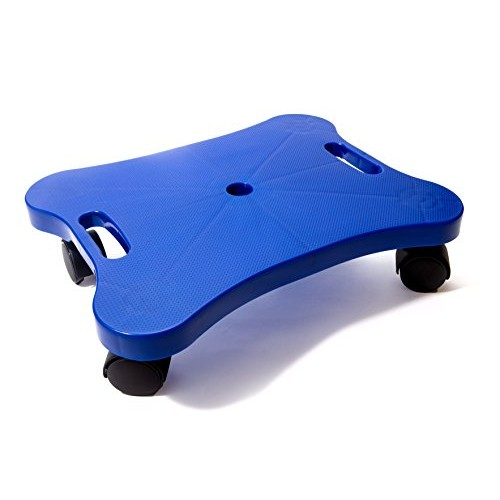 Educational Manual Plastic Scooter Board with Safety Handles | 16 x 12 inches |