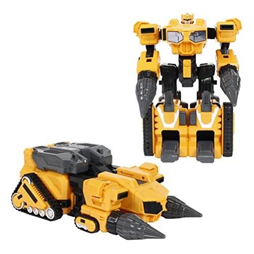 MINI FORCE 2018 New Version Miniforce x MAxBOT Transforming Commando x-Machine Car from Robot Yellow Color